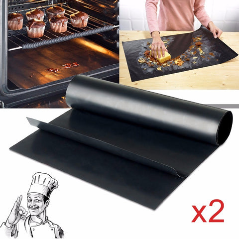 Image of Reusable Non-stick Grill Mats