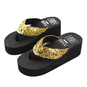 Sandals Women Bright Diamond Casual Outdoor Travel Flip Flop