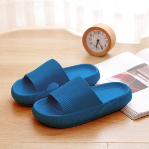 Unisex Slippers Indoor Bathroom Non-Slip Bathroom Bath Slippers Quick-Drying Home Thick Soft Comfortable Sandals Women Sliders - GEMS Express L.L.C.