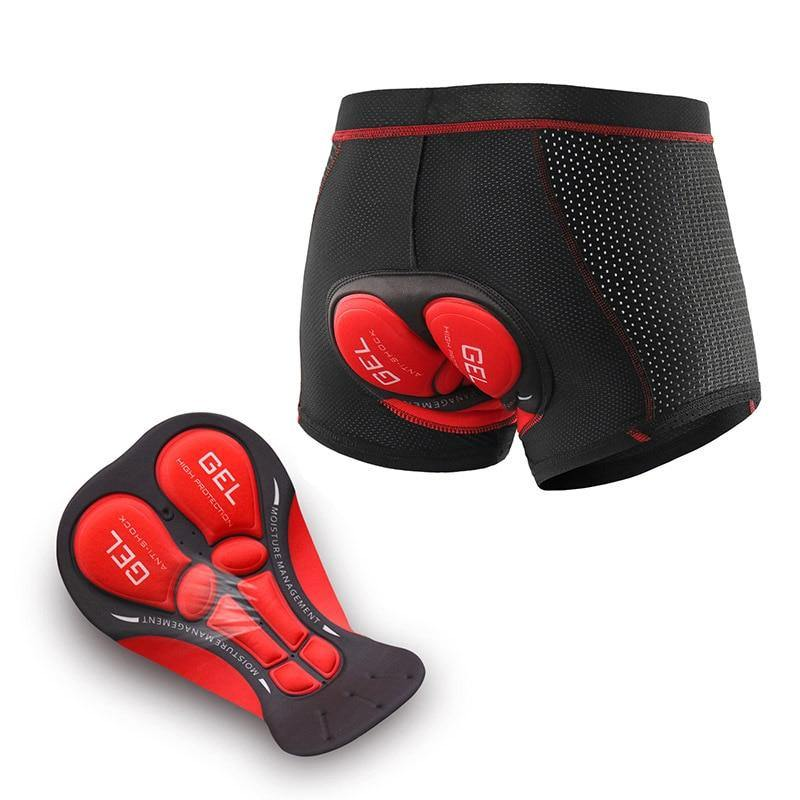 Bicycle Shorts Men Upgrade Cycling Underwear 3D Gel Pad Shockproof Cycling Shorts MTB Mountain Bike Underwear Bicycle Shorts
