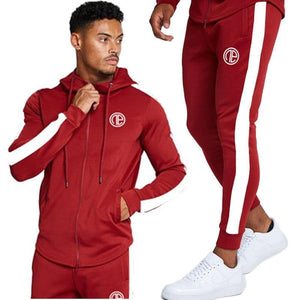 2020 Spring New Men Hoodies Pants 2Pcs/Sets Sweatshirt Sweatpants - GEMS Express L.L.C.
