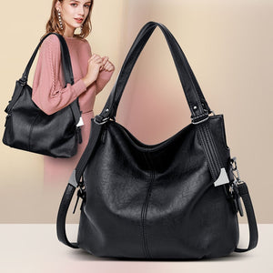 2019 Large Capacity Women Messenger Bag Designer Women Bags Real Leather Luxury Ladies Shoulder Bag sac a main Lady Big Tote - GEMS Express L.L.C.