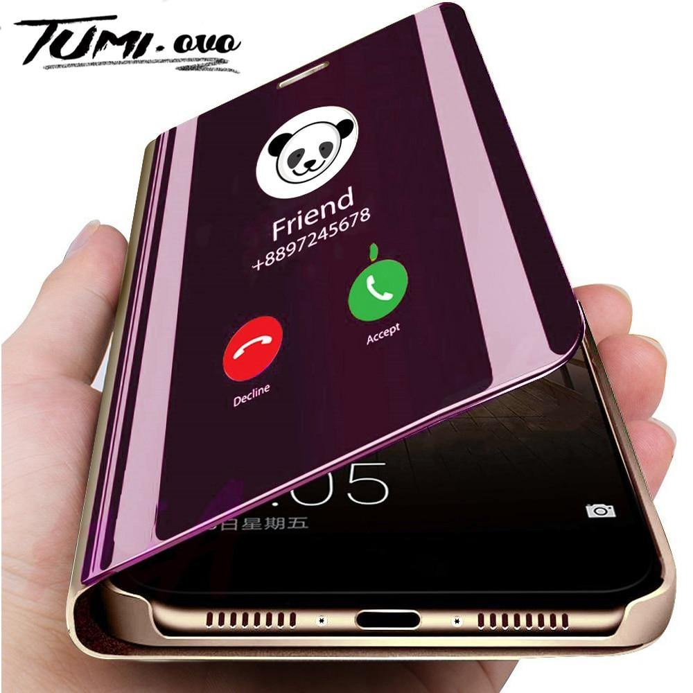Smart Mirror Phone Case For Samsung Galaxy S10 S9 S8 Plus S10E A6 A8 A7 2018 Note 8 9 A10 A30 A40 A50 A60 A70 M10 M20 M30 Cover - GEMS Express L.L.C.