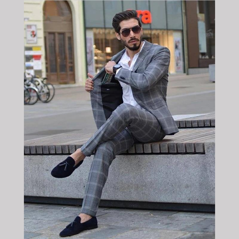 Mens Business 2Piece Suits