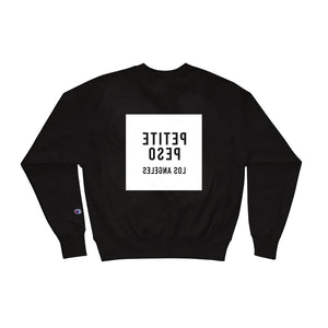 Petite Peso Los Angeles Black x Champion Sweatshirt