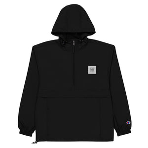Petite Peso Los Angeles Embroidered Champion Packable Jacket