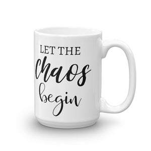 Let The Chaos Begin Mug, Just Another Manic Monday Cup, Chaos Coordinator Mug, Mom Life Mugs, #MomLife Mugs for Mom, Gifts for Mom