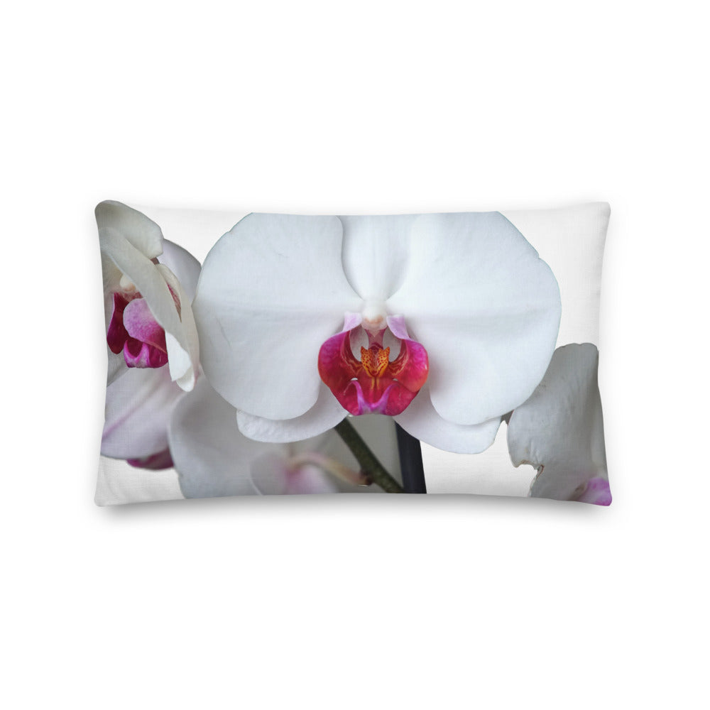 Orchid Lover Throw Pillow 20