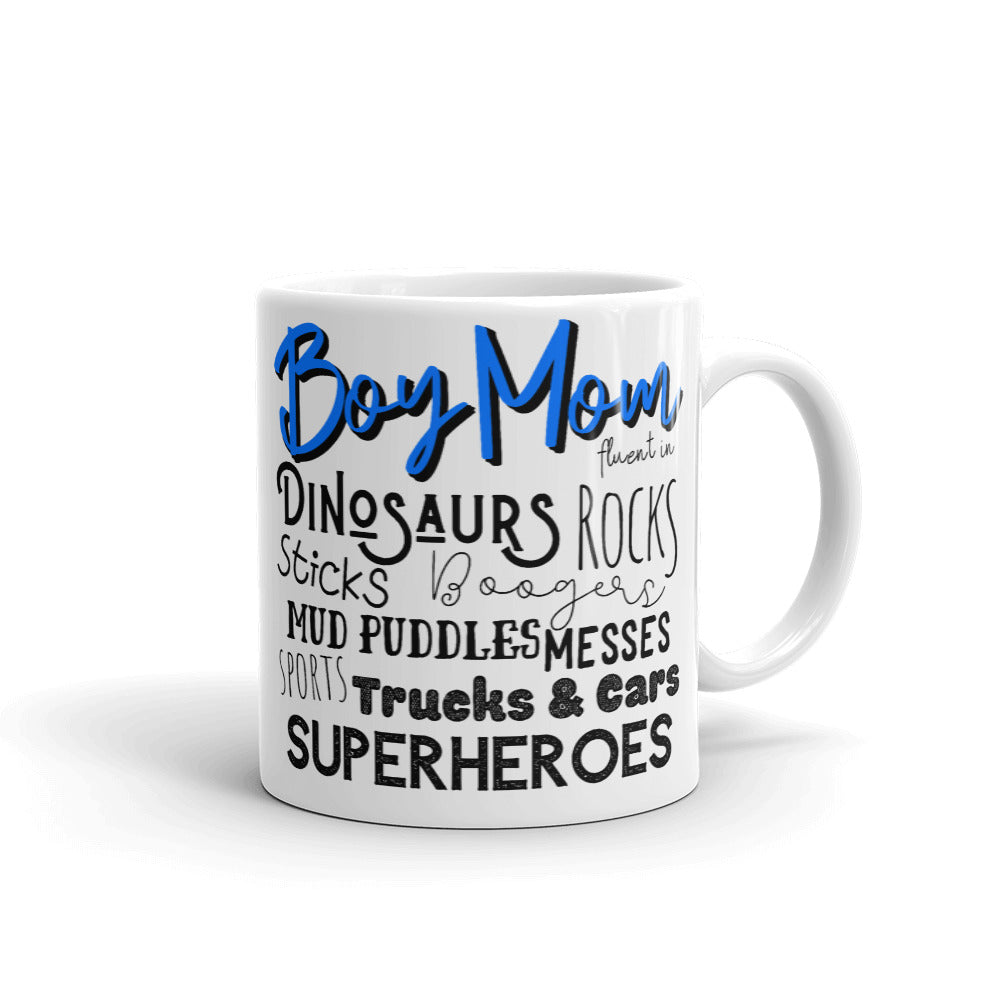 Boy Mom Mug, Funny Coffee Mugs for Women, Gifts for Mom from Daughter, Mom Life Mugs, Boy Mom Life, #MomLife Gifts for Mom, Boy Mom for Life