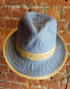 Lightweight Ribbon Fedora