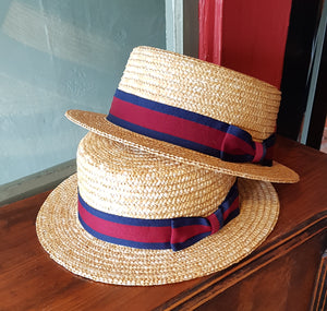 Classic Straw Boater