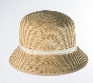 Packable Straw Bucket Hat
