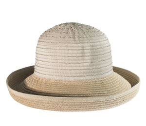 Cheerful Ribbon Sunhat, NATURAL
