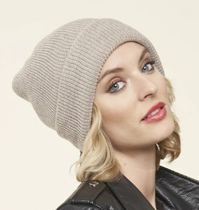 100% Merino Wool Toque, BIRCH