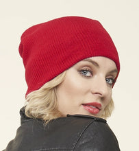 Load image into Gallery viewer, 100% Merino Wool Toque, RED