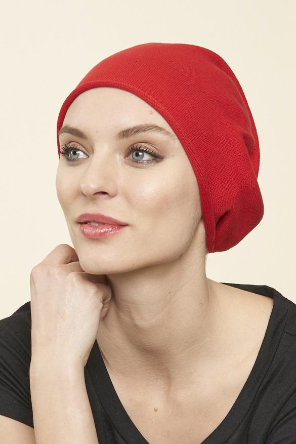 100% Cotton Slouchy, RED