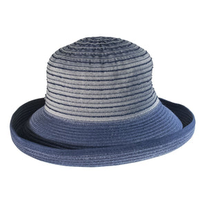 Cheerful Ribbon Sunhat, NAVY