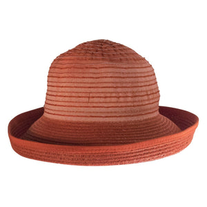 Cheerful Ribbon Sunhat, RED