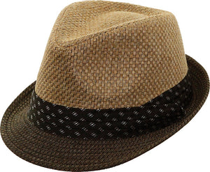 Two-Tone Summer Fedora