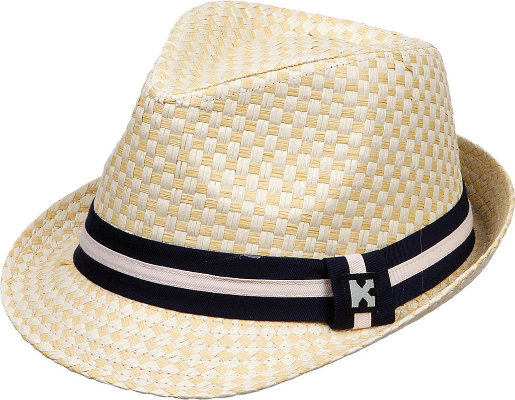 Straw fedora with Black Band