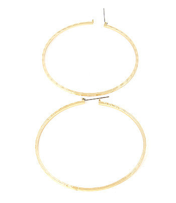 Cecile Hoop Earrings - So Enticing