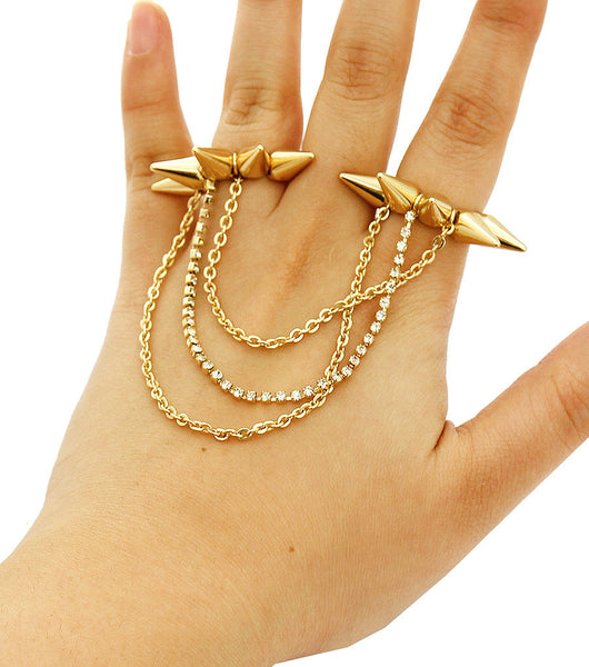 Syndell Spike Chain Ring - So Enticing
