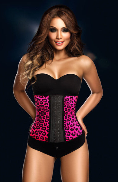 Sport 2 Hook Animal Print Waist Trainer - So Enticing