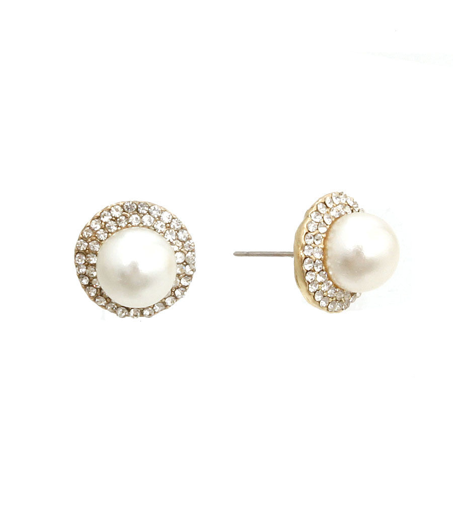 Diana Pearl Earrings - So Enticing