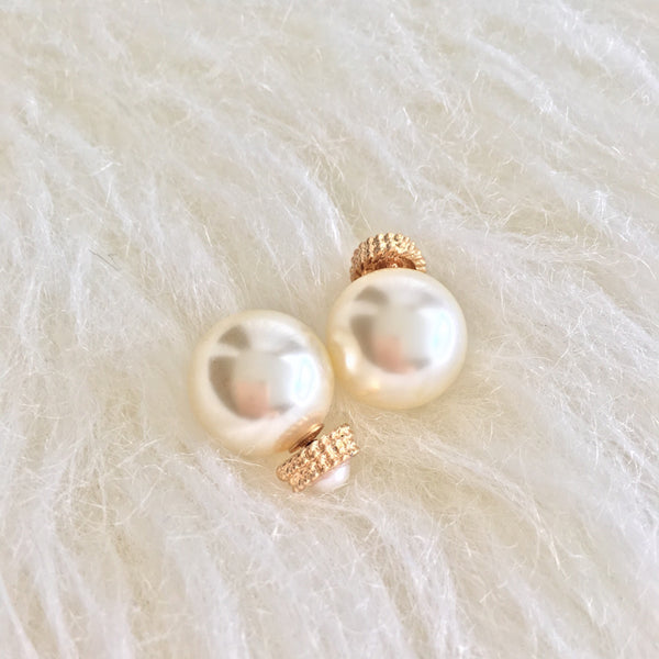 Audrey Pearl Double Sided Earrings - So Enticing