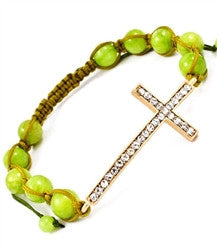 Miranda Cross Bracelet - So Enticing
