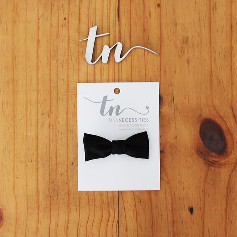 Black Bow tie for baby boys