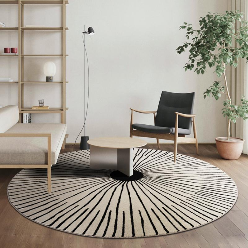Grand Tapis Rond Salon