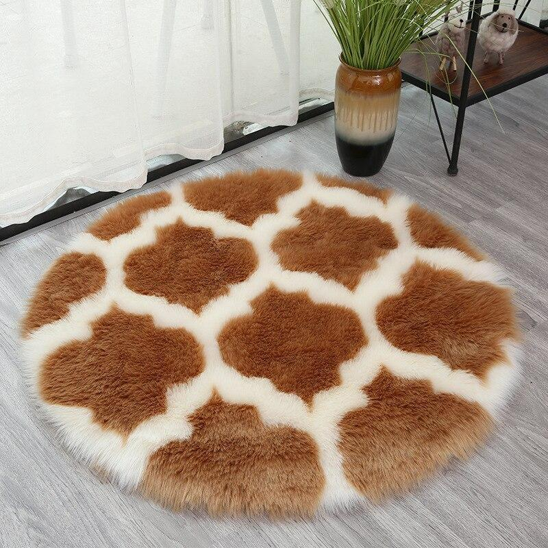 Tapis Rond Shaggy 160 cm