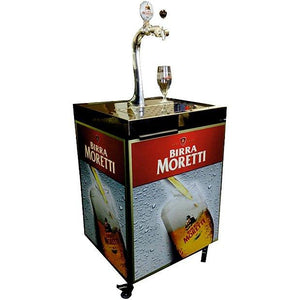 moretti beer dispenser