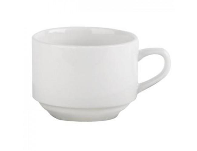 Load image into Gallery viewer, plain white tea cup