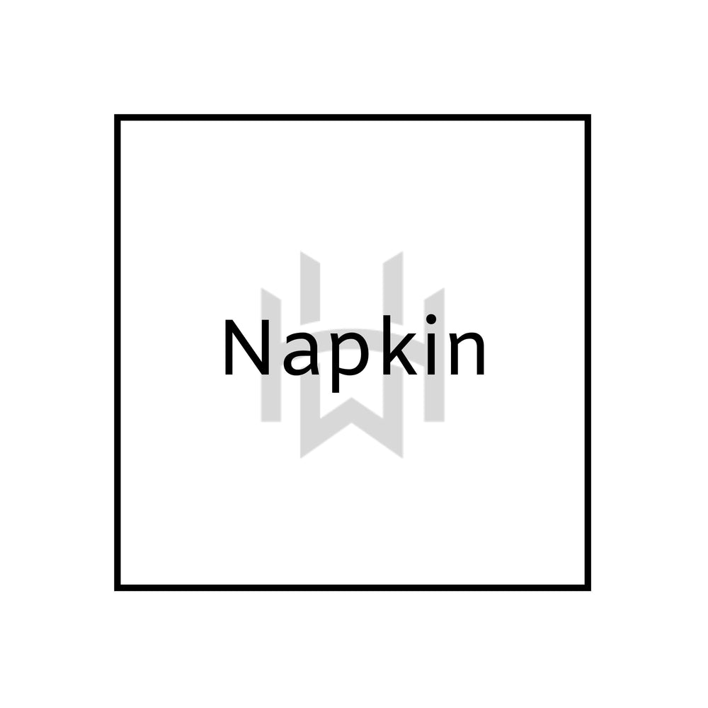 Load image into Gallery viewer, classic plain white napkin