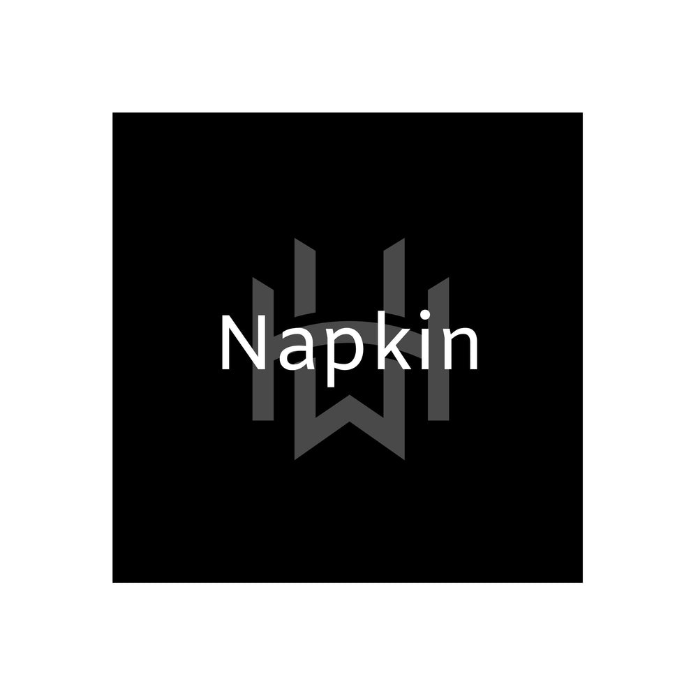 Load image into Gallery viewer, classic plain black napkin