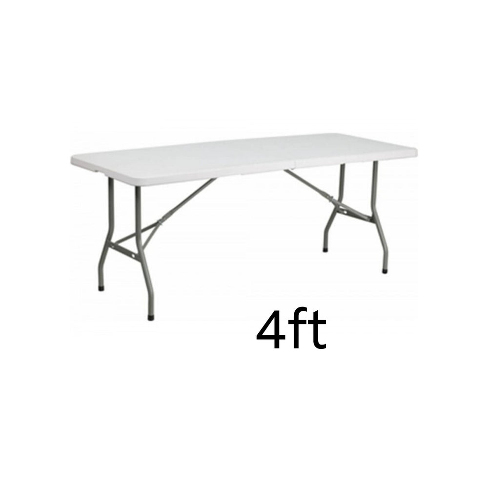 Load image into Gallery viewer, plastic rectangular table – 4 ft