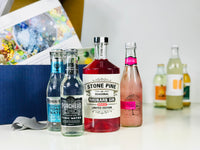 See in Autumn with a Rhubarb inspired gin and tonic tasting set