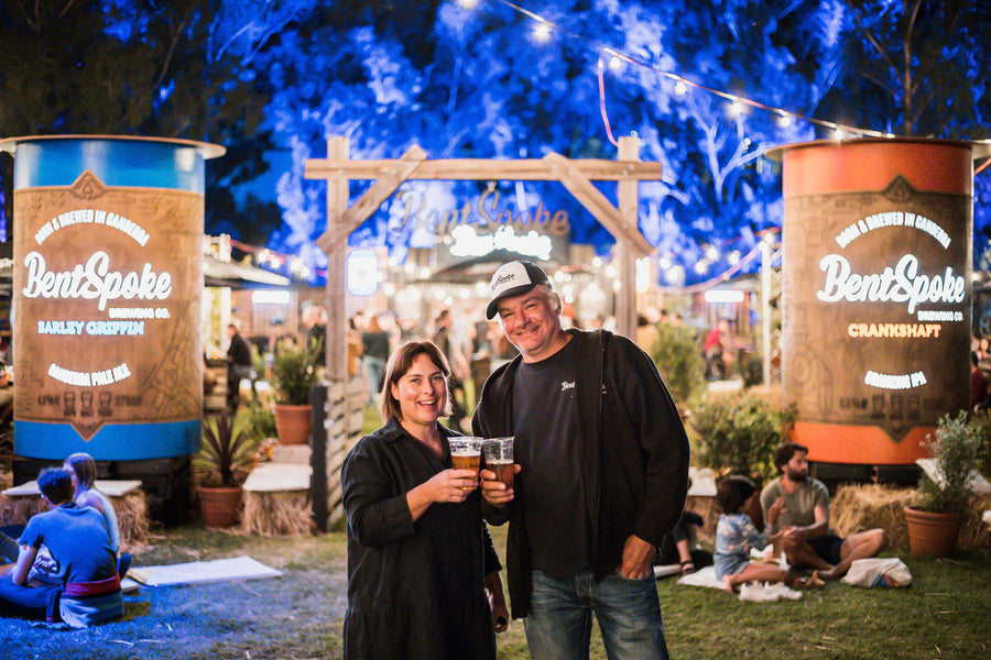 BentSpoke Brewing & Patricia Piccinini Skywhale Event