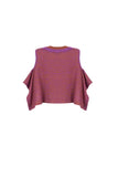 Semi Cape Knit Top
