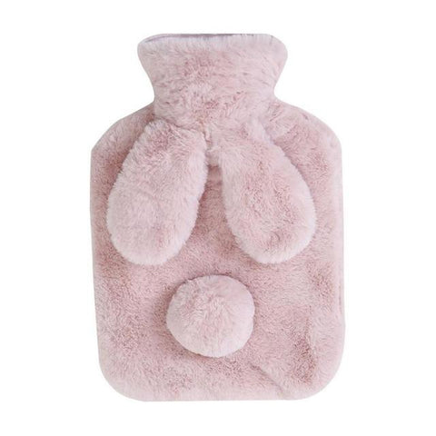 Bouillotte Peluche <br> Lapin mynounours Rose