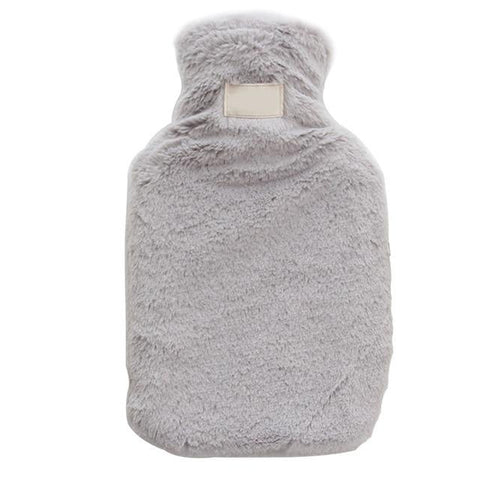 Bouillotte Peluche <br> Simple mynounours Gris