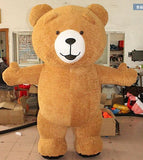 Déguisement <br> Mascotte Ours mynounours Orange
