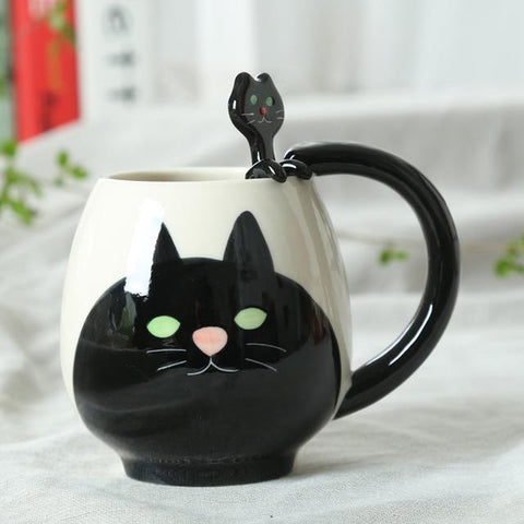 Mug Motif <br> Ours mynounours Chat