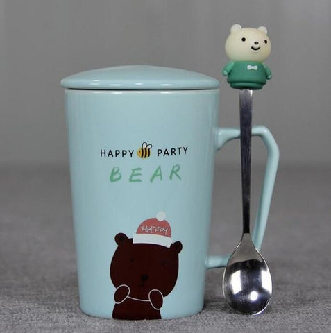 Mug Ours en Peluche <br> Happy Party mynounours Ours