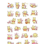 Stickers <br> Winnie l'Ourson 24 pcs mynounours 1