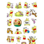 Stickers <br> Winnie l'Ourson 24 pcs mynounours 2