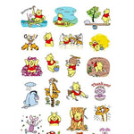 Stickers <br> Winnie l'Ourson 24 pcs mynounours 3