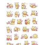 Stickers <br> Winnie l'Ourson 24 pcs mynounours